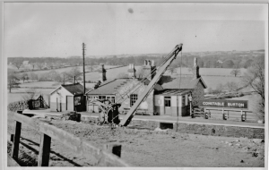 Constable Burton Station - date unknown